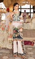 DIGITAL PRINTED LAWN SHIRT : 3.2 MTR CAMBRIC TROUSER : 2.5 MTR NOIL YARN DYED EMB DUPATTA : 2.5 MTR ACCESSORIES  BODICE : 2 PCS