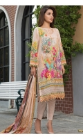 DIGITAL PRINTED LAWN SHIRT : 3 MTR LAWN TROUSER : 2.5 MTR DIGITAL PRINTED LAWN DUPATTA : 2.5 MTR