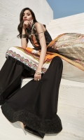 LAWN DIGITAL PRINTED SHIRT: 3MTR  CHIFFON DIGITAL PRINTED DUPATTA: 2.5MTR  DYED CAMBRIC TROUSER: 2.5MTR