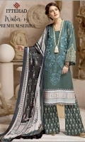 Embroidered Khaddar Unstitched 3 Piece Suit