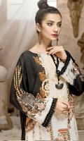 Embroidered Khaddar Unstitched Kurti