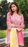Masoori Lawn Embroidered Shirt with Dupatta 2 piece shirt + Dupatta