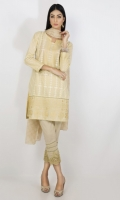 EMB Lawn Shirt with Crickle Chifoon Duppata 2 Piece suit  Shirt + Duppata