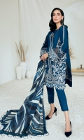 Embroidered Lawn Front Embroidered Lawn Back Embroidered Lawn Sleeves Embroidered Lawn Front & Back Border Embroidered Lawn Sleeves Borders Digital Printed Silk Dupatta Dyed Trouser
