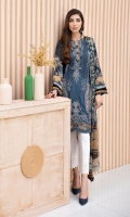 Digital Printed Shirt Digital Printed Chiffon Dupatta Embroidered Front Embroidered Trouser Embroidered Daman Patch