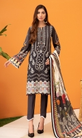 Digital Printed Shirt Digital Printed Tissue Silk Dupatta Embroidered Front Embroidered Daman Border Dyed Trouser