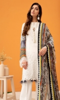 Digital Embroidered Shirt Digital Printed Chiffon Dupatta Embroidered Front Dyed Trouser Dyed Organza