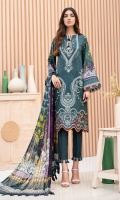 Digital Printed Shirt Digital Printed Chiffon Dupatta Embroidered Front Dyed Trouser Dyed Organza Embroidered Daman Patch