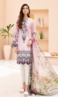 Digital Printed Shirt Digital Printed Chiffon Dupatta Embroidered Neck Patch Dyed Trouser Embroidered Trouser Patch Embroidered Daman Patch