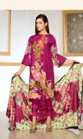Printed & Embroidered Khaddar Collection 3 Piece Suit Printed Embroidered Khaddar Shirt Printed Wool Shawl Plain Khaddar Trouser