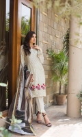 Broshia Shirt 3 Mtr Embroidered Zari Viscos Digital Dupatta 2.5 Mtr Trouser 2.5 Mtr