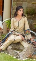 Shifli Embroidered Shirt 3 Mtr Digital Shifli Dupatta 2.5 Mtr Trouser 2.5 Mtr Sattin Patti 2 Yards