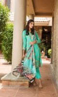 Embroidered Shirt 3 Mtr Digital Shifli Dupatta 2.5 Mtr Trouser 2.5 Mtr