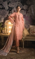 3 Mtr Shiffli Embroidered Shirt 2.5 Mtr Shiffli Dupatta 2.5 Mtr Cotton Trouser