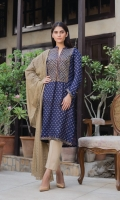 3 Mtr Jacquard Embroidered Shirt 2.5 Mtr Shiffli Dupatta 2.5 Mtr Plain Trouser