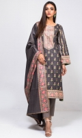 Printed Unstitched Cotton 3 Piece Suit