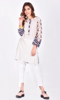 Printed kurta in regular fit