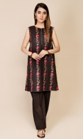 Dyed & Embroidered Wider Width Lawn Shirt Front(1.25m) Dyed & Embroidered Wider Width Lawn Shirt Back(1.25m)