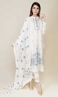 Dyed & Embroidered Wider Width Lawn Shirt Front(1.25m) Dyed & Embroidered Width Width Lawn Shirt Back(1.50m) Dyed & Embroidered PK Chiffon Dupatta(2.50m)