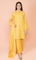 Dyed & Printed Wider Width Lawn Shirt(2.50m) Dyed & Embroidered Cotton Lawn Dupatta(2.50m) Dyed Cambric Shalwar(2.50m)