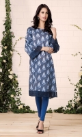 Printed wider width cotton lawn shirt (2.5) Embroidered organza lace (1.75)