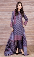 Printed Wider Width value lawn shirt (2.5) Printed value lawn dupatta (2.5) Dyed cambric shalwar (2.5)