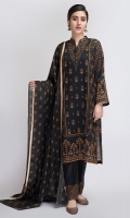 paste printed embellished kurta paired with trouser