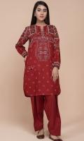 Printed Wider Width Lawn Shirt(2.50m)