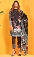 Printed Wider Width Cotton Lawn Shirt(2.5M),Printed Cotton Lawn Dupatta(2.5M),Printed Cambric Shalwar(2.5M)