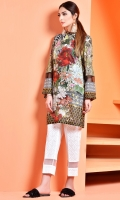 Printed Wider Width Cotton Lawn Shirt(2.15M), Printed Cambric Shalwar(2.5M)