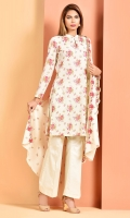Printed swiss lawn shirt(2.50M) Printed and embroidered swiss lawn dupatta(2.50M) Dyed cambric shalwar(2.50M)