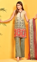 Printed Wider Width Cotton Lawn Shirt (2.75M) Printed Cotton Lawn Dupatta(2.5M) Dyed Cambric Shalwar(2.5M)