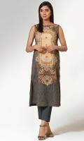 Digital Printed Wider Width Cotton Lawn Shirt(2.50m)