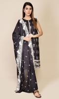 Printed Wider Width Lawn Shirt(2.50m) Printed & Embroidered Cotton Lawn Dupatta(2.50m)