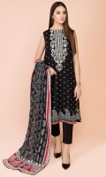 Printed & Embroidered Wider Width Lawn Shirt(2.50m) Printed Cotton Lawn Dupatta(2.50m) Dyed Cambric Shalwar(2.50m)