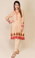 Digital Printed & Embellished Cotton Silk Shirt(2.85m)