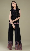 Printed & Embroidered Wider Width Khaddar Shirt(2.50m) Printed Khaddar Shalwar(2.50m)