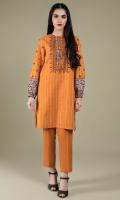 Printed & Embroidered Wider Width Khaddar Shirt Front(1.25m) Printed Khaddar Shirt Back(1.50m) Dyed Khaddar Shalwar(2.50m)