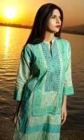 Embroidered Lawn Shirt 3.5m Lawn Shalwar 2.5m