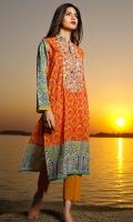 Embroidered Lawn Shirt 3.5m Lawn Shalwar 2.5m