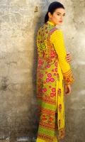 Embroidered Lawn Shirt 2.5m Printed Lawn Shirt 1.5m Lawn Shalwar 2.5m