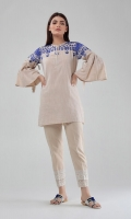 Bell Sleeve Embroidered Kurta