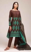Jacquard Shirt 3.25m Jacquard Dupatta 2.5m Shalwar 2.5m