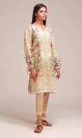 Front Khaddar Print Embroidered 1.25m Back & Sleeves Khaddar Printed 2.0m Embroidered Shalwar 2.5m