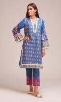 Front & Back Khaddar Printed 2.5m Sleeves Khaddar Print Embroidered 0.75m Embroidered Shalwar 2.5m