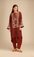 Cross Hatch Embroidered Shirt 3.25m Shalwar 2.5m
