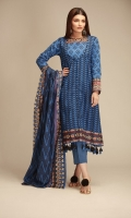 Front Cambric Printed 1.25m Back & Sleeves Cambric Printed 2.0m Printed Cambric Dupatta 2.5m Shalwar 2.5m