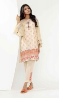 Jacquard Embroidered Shirt 2.5m Embroidered Shalwar 2.5m