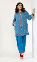 Jacquard Embroidered Shirt 2.5m Embroidered Shalwar 2.5m