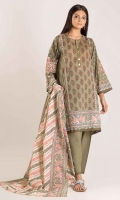 Front Cambric Printed length 1.25m Back & Sleeve Cambric Print Embroidered length 2.0m Printed Dupatta length 2.5m